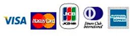VISA MasterCard JCB DinersClub AmericanExpress