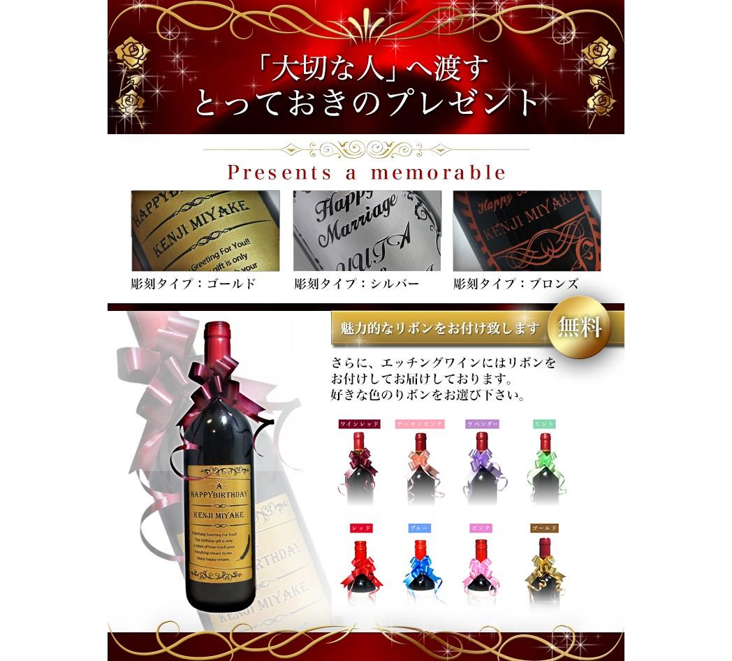 赤ワイン化粧箱付